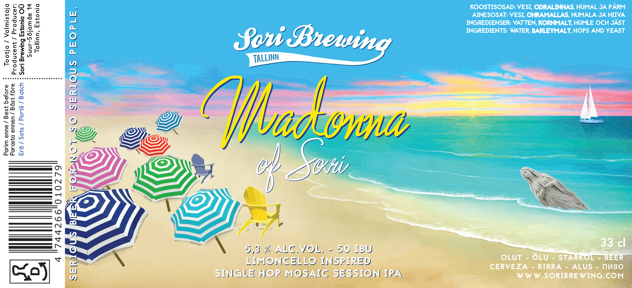 Madonna of Sori – Session IPA
