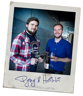 Founders of Sori Brewing, Pyry & Heikki