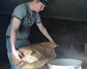 Mixing malts