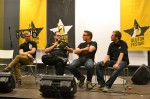Heikki (right) talking about craft beer at Oluton Beer Festival