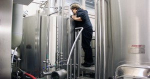 Samu checking out a brewhouse, could this be the one?
