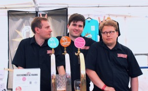 Sori guys serving Gose at SOPP Tampere Craft Beer festival
