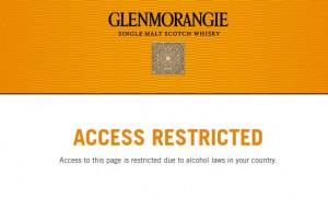Glenmorangie sulki sivunsa suomalaisilta
